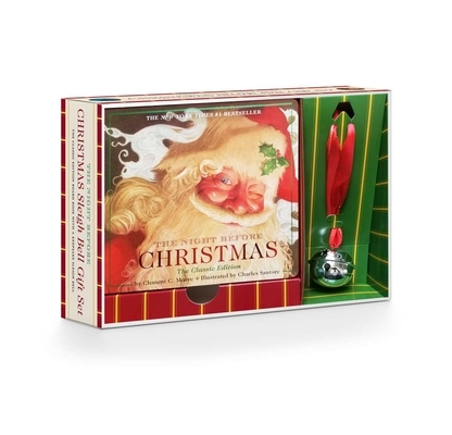 The Night Before Christmas Sleigh Bell Gift Set