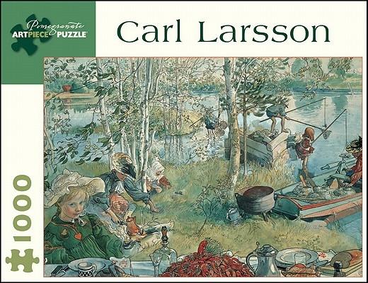 Puzzle-Carl Larsson Crayfishin
