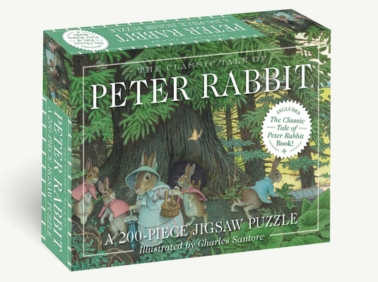 The Classic Tale of Peter Rabbit 200-Piece Jigsaw Puzzle & Book: A 200-Piece Family Jigsaw Puzzle Featuring the Classic Tale of Peter Rabbit!
