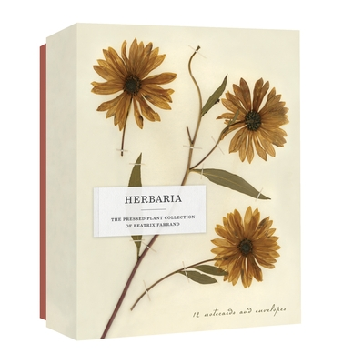 Herbaria: The Pressed Plant Collection of Beatrix Farrand: 12 Notecards and Envelopes