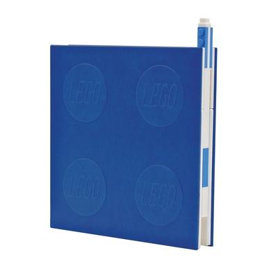 Lego 2.0 Locking Notebook with Gel Pen - Blue