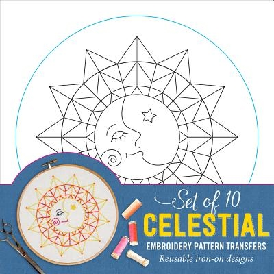 Embroidery Transfers Celestial