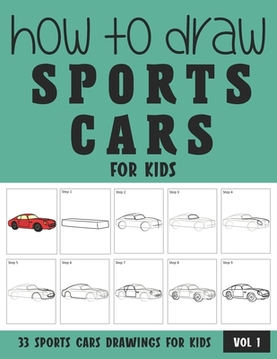 How to Draw Sports Cars for Kids