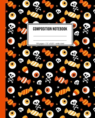 Composition Notebook: Trick Or Treat Halloween Notebook