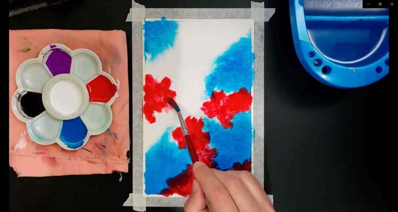 como pintar galáxias