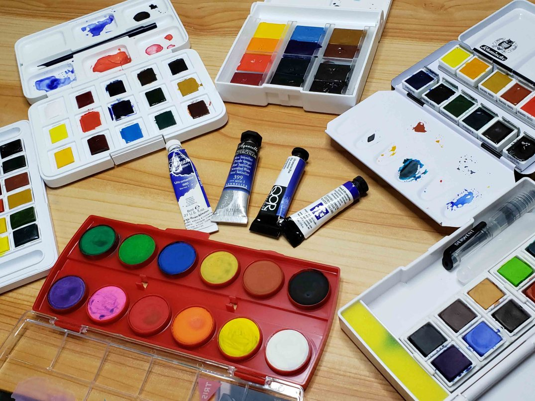 top 10 aquarelas