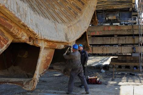 Detlev DEGNER: Heavy repairs (Germany)