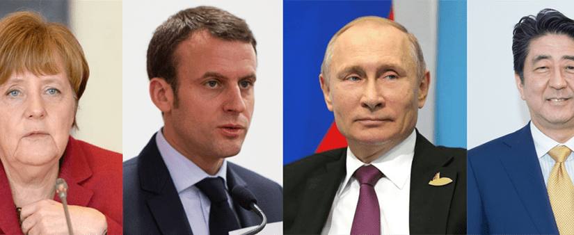 Western leaders back in Russia as tensions appear to ease