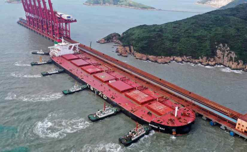 China determined to build iron ore hub in Africa