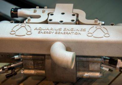 hydrogen powered engine