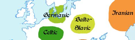 Europe 1st millenium BC: Indoeuropean languages