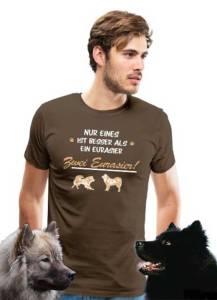 """""""Zwei Eurasier"""" T-Shirt für Männer"""