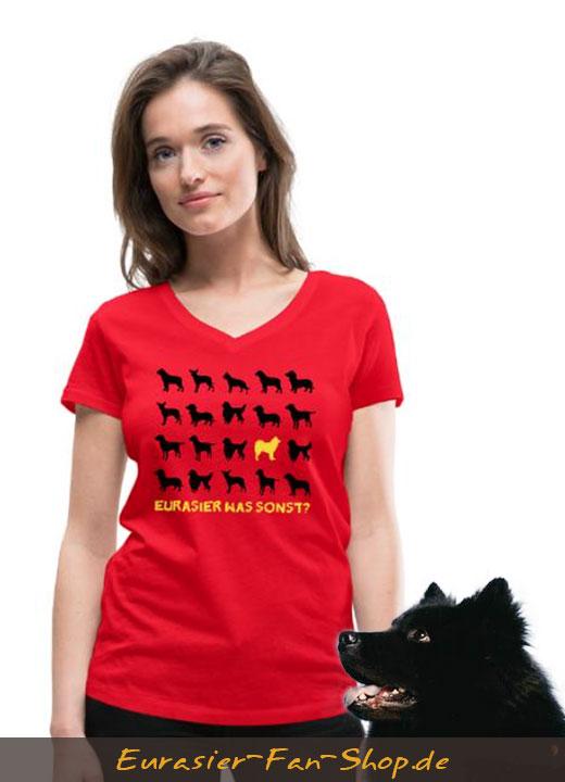 Eurasier T-Shirt Frauen - Eurasier was sonst?