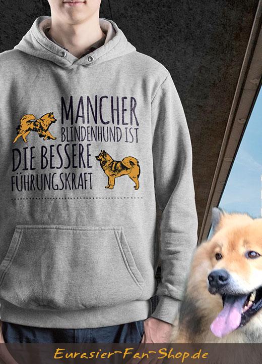 Eurasier Hoodie-Pulli - Blindenhund