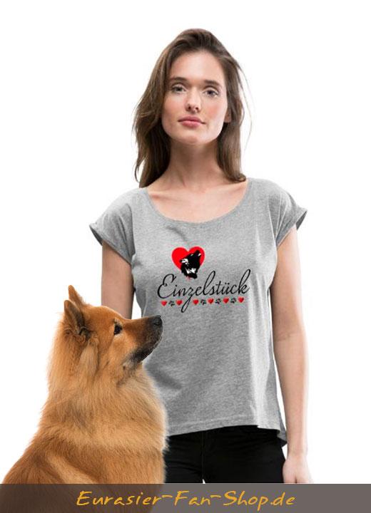 Eurasier T-Shirt Frauen - Einzelstück