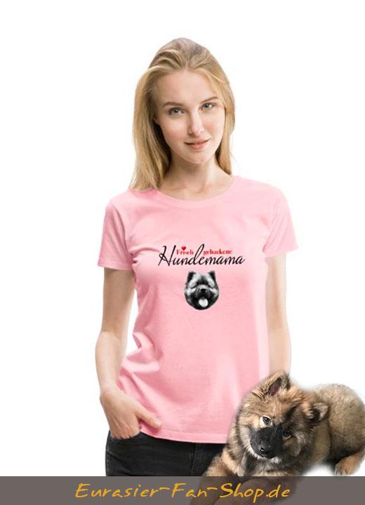 Eurasier T-Shirt Frauen - Hundemama