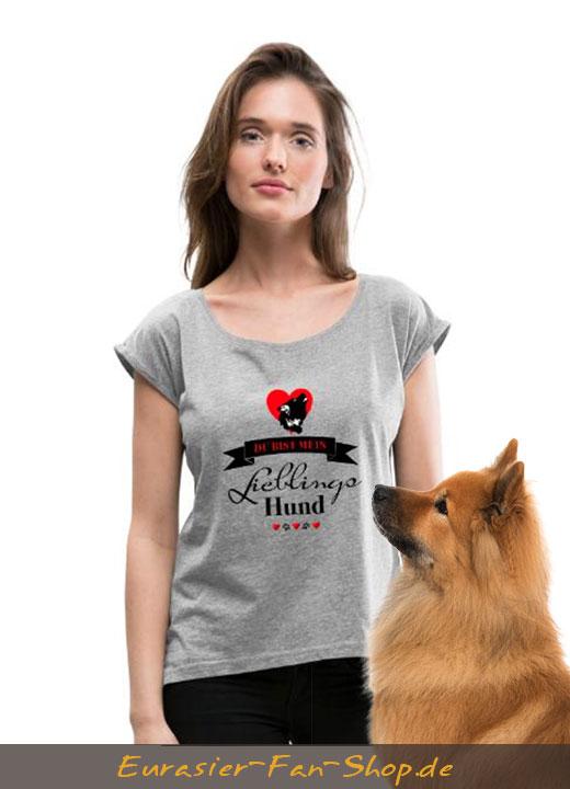 Eurasier T-Shirt Frauen - Lieblingshund