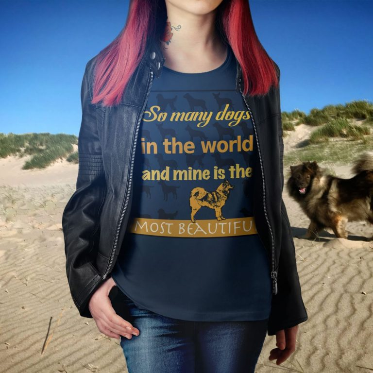 Eurasier T-Shirt Woman - So many Dogs
