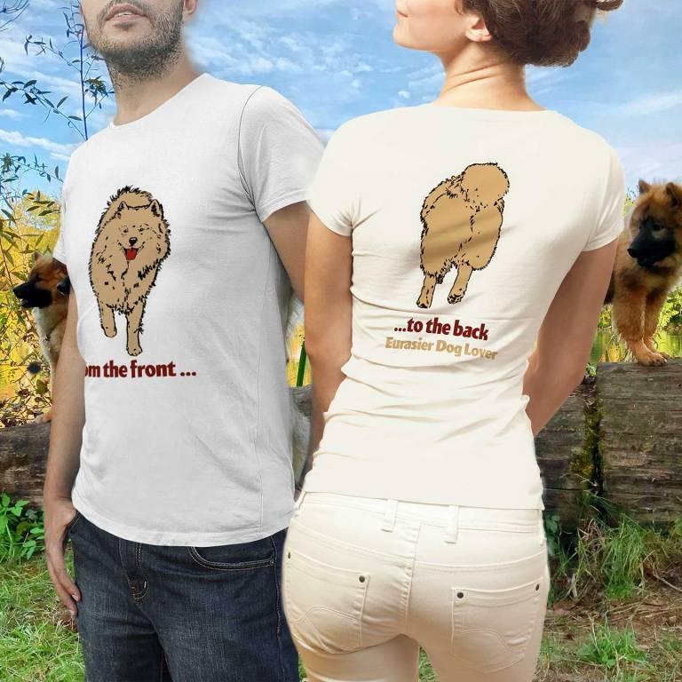 Front-to-back Eurasier T-shirt Motiv