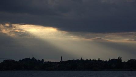 Lichtstrahlbeleuchtung für Lindau