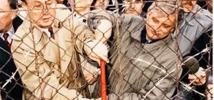 Seit 30 Jahren wieder offene Grenzen in der Donau-Moldau Region!