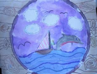 Age 7 Sail Boat