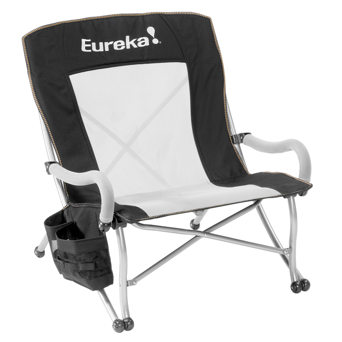 comfortable camping chairs portable fishing chair for boat curvy low rider camp eureka