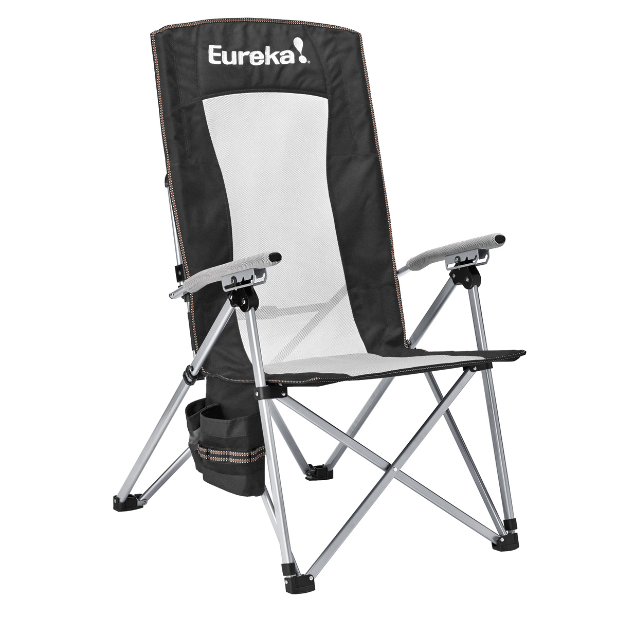 Folding Camping High Chair Recliner Camp Chair Eureka