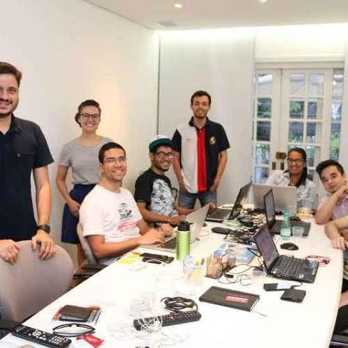 Equipe Loja Integrada no Coworking