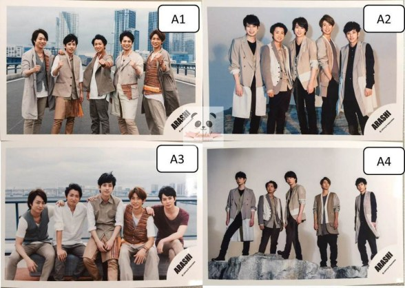 "ARASHI ""Power of The Paradise"" – Group #1"