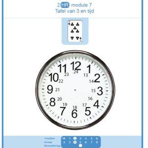 2 HR module 7 tafel van 3 en tijd