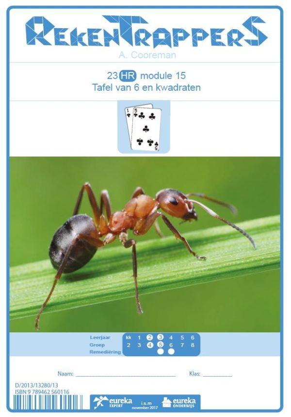 23 HR module 15 tafel van 6 en kwadraten