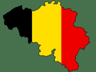 belgium, map, flag