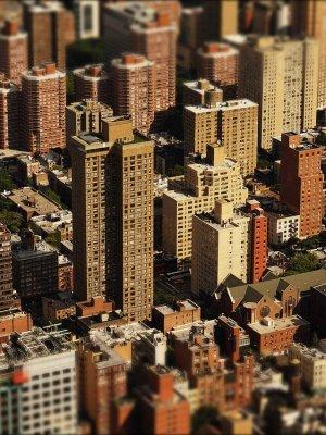 skyscrapers, skyline, city