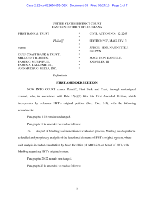 first-bank-and-trust-vs-gulf-coast-bank-and-trust-complaint