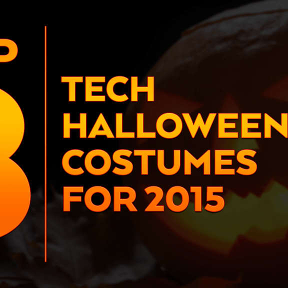 Top 8 tech halloween costumes for 2015 by Eureka Software