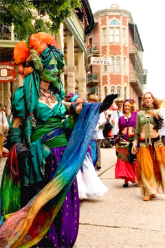 May Festivities in Eureka Springs
