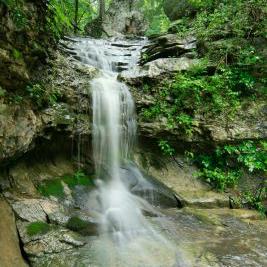 Eureka Springs Waterfall