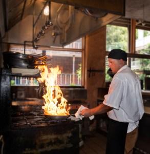 Chef at Stove
