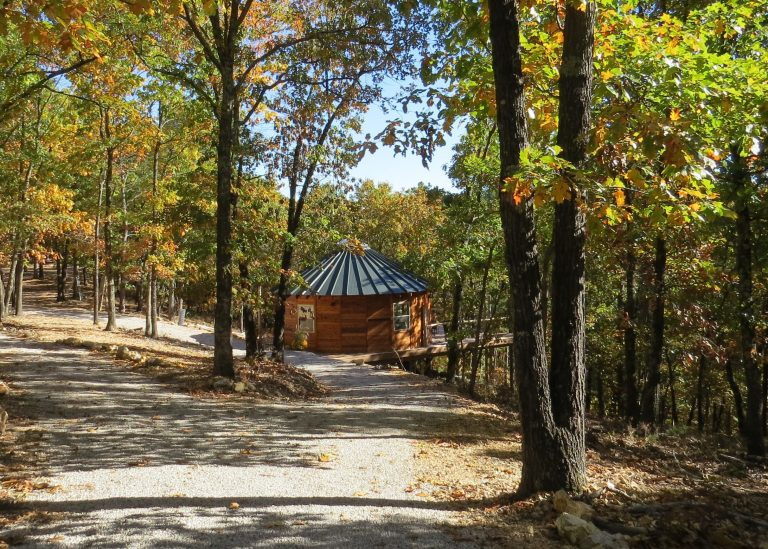 Easy to unload at the Yurt