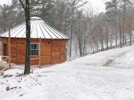 Snow Days at Yurt