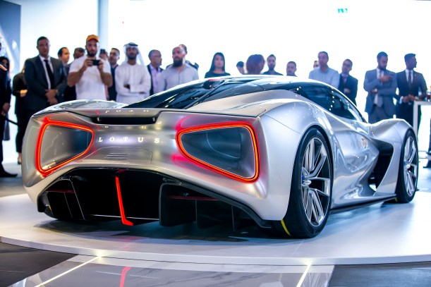 Image 4-Lotus Evija Middle East Debut