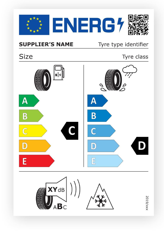 етикет за гуми на ЕС