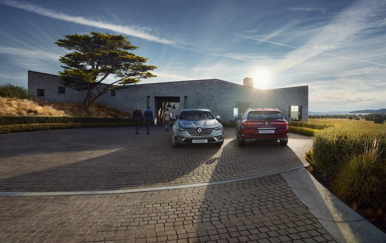 2020 - New Renault TALISMAN and New Renault TALISMAN ESTATE55555