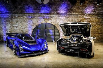 3. Czinger Czinger 21C London, UK reveal of both cars, decklid up