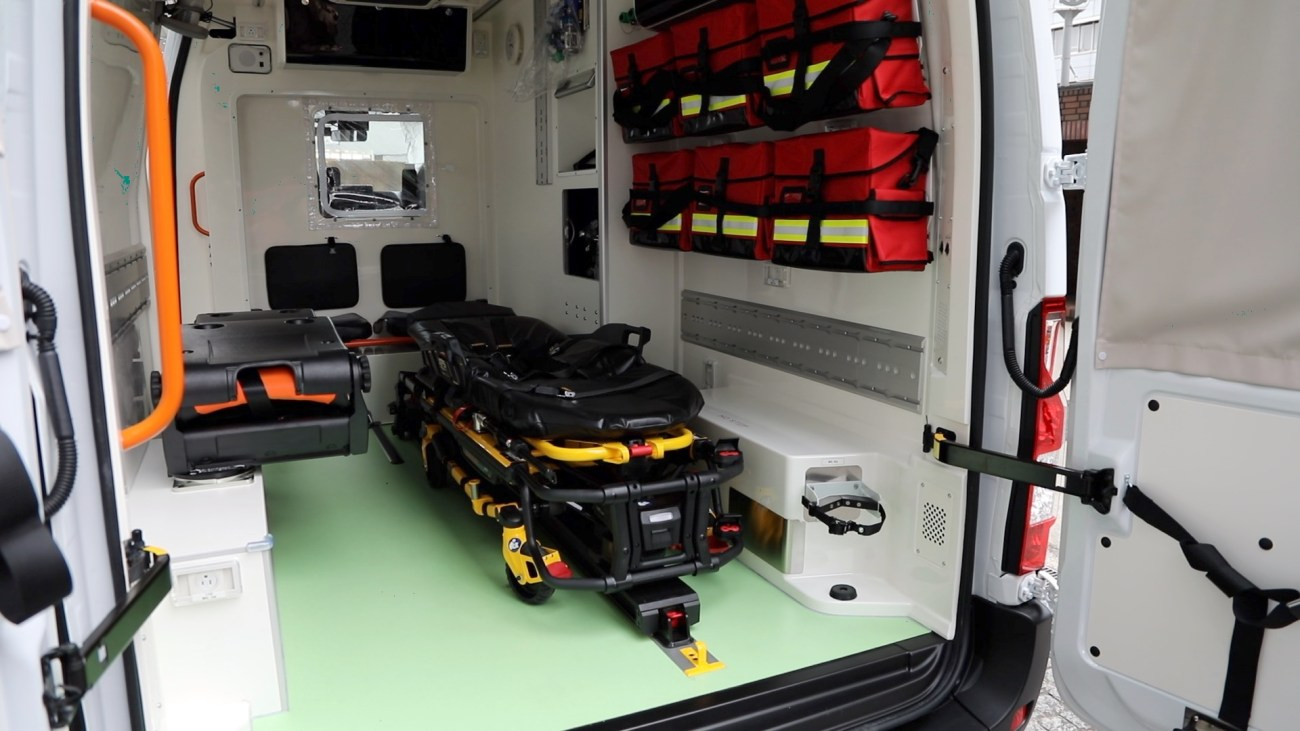 Nissan EV Ambulance Interior-source