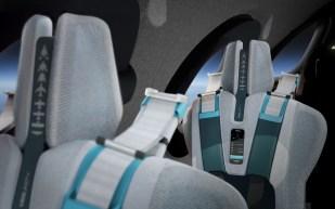 Virgin Galactic Spaceship Seats Detailing