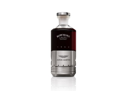 B_1.1_Black_Bowmore_DB5_Bottle_Front_White_BG_Reflection