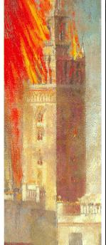 Sevilla Giralda Pintor Amalio