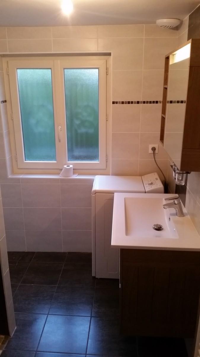 Ralisation dune salle de bain avec douche a litalienne et cration de niche de rangement  admin